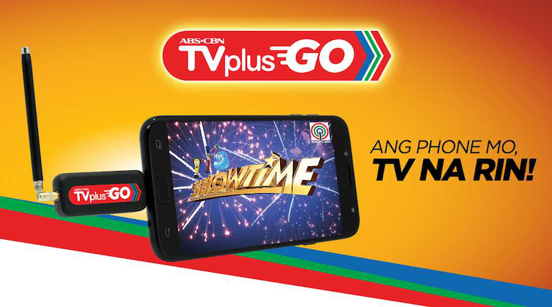 ABS-CBN launches TVplus GO, a digital broadcast mobile receiver