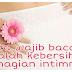 Wanita wajib baca ni : Jagalah kebersihan bahagian intimmu!