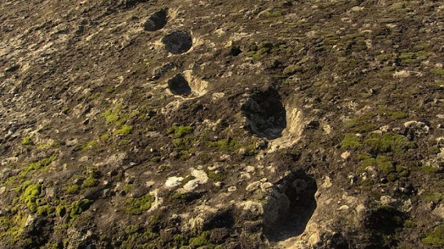 Possible Neanderthal footprints found at southern Italian volcano