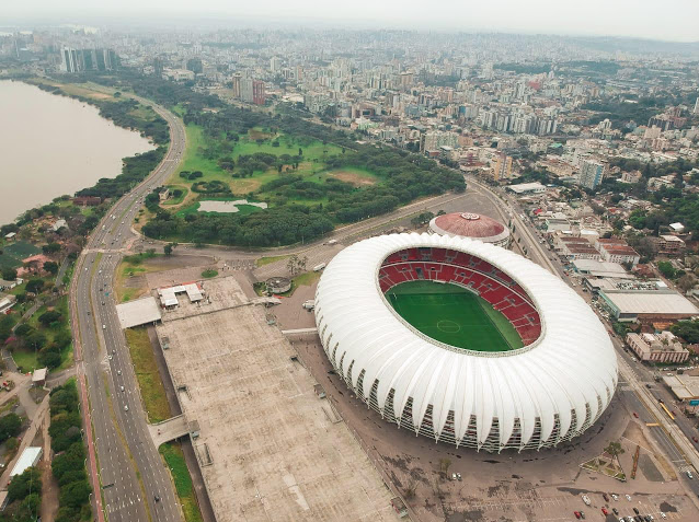 Beira-Rio será o palco das atrações (Foto: Fernando Britto)
