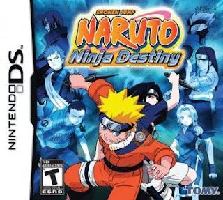 Naruto: Ninja Destiny, NDS, Español, Mega, Mediafire