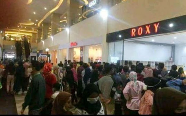 Polisi Merasa Dipojokkan saat Mall Roxy Ramai Pengunjung: Masjid Ditutup, Tempat Belanja Tidak