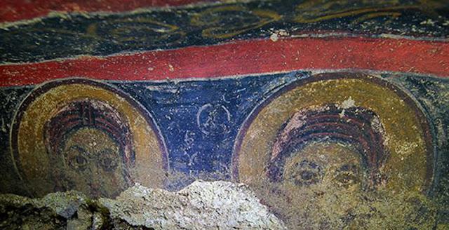 В Турции нашли древнейшую подземную Церковь с уникальными фресками