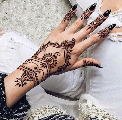mehendi designs arabic style
