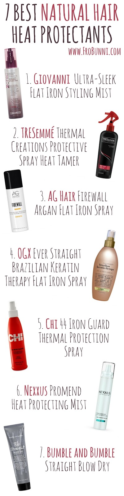 Frobunni 10 Tips For Using Heat Safely On Natural Hair