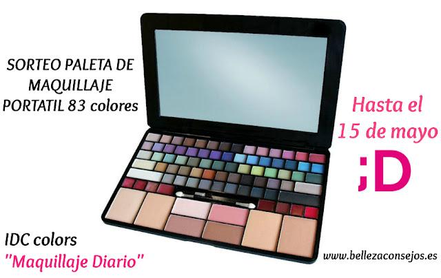 Paleta de Maquillaje Portátil IDC Colors