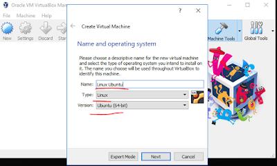 Install Linux Ubuntu 18.04 Di VirtualBox