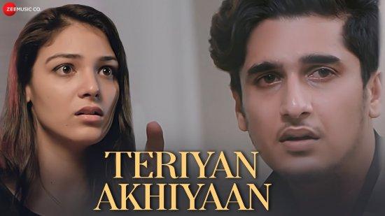Teriyan Akhiyaan Lyrics Arun Solanki | Bhavin B