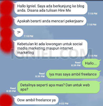 Author Box Igniel dengan Resume Skill Singkat