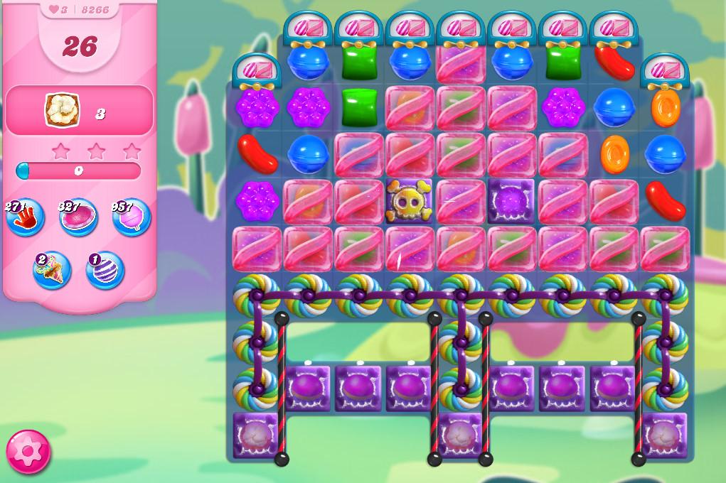 Candy Crush Saga level 8266