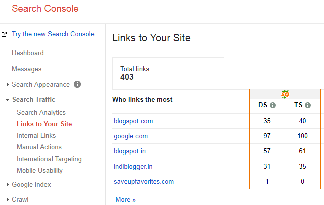 blog backlinks