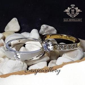 Cincin nikah emas dan perak