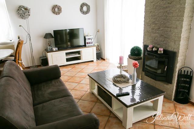 Ferienhaus Strandslag 284 Wohnzimmer