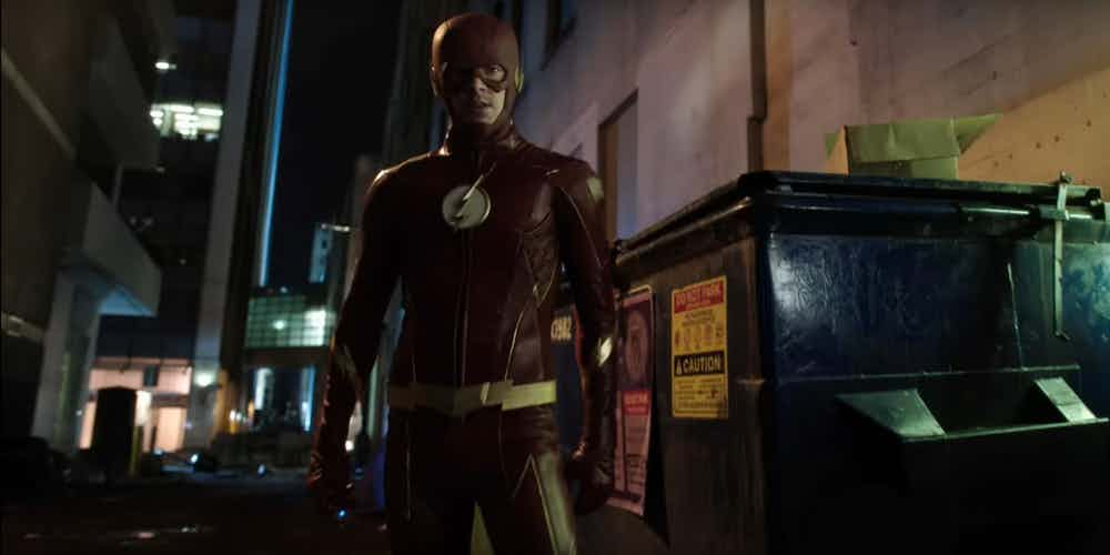New The Flash Visuals Shows Iris West's Grave.