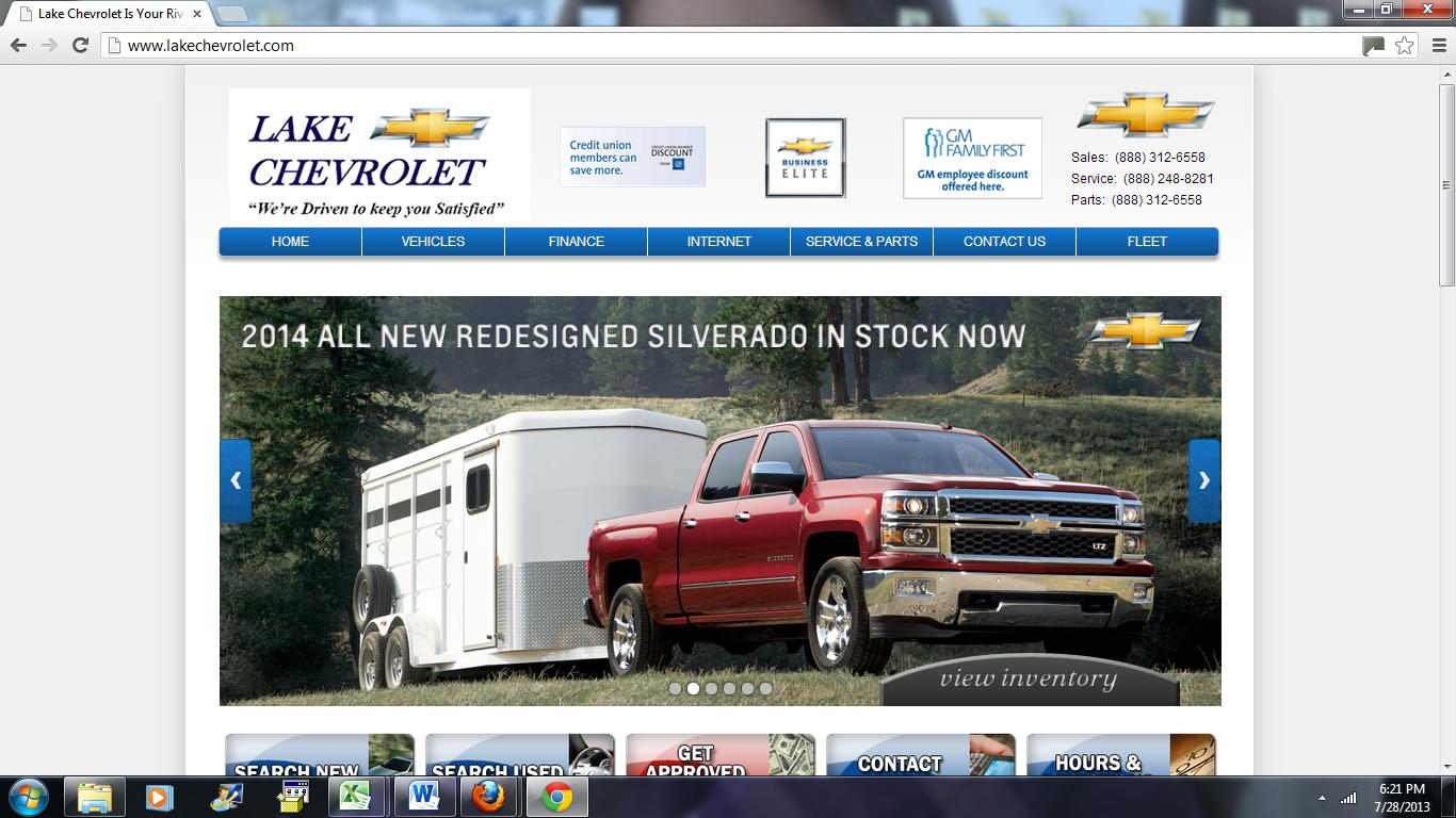 Lake Chevy Is One Of The Leading Southern California Chevrolet Dealers. As  Your Local Riverside Chevy Dealer, We Provide A Variety Of New And Used  Chevy ...