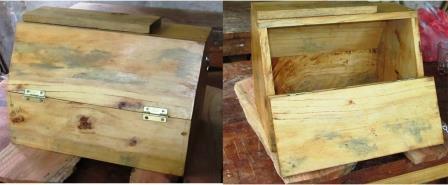 C mo hacer una caja para lustrar zapatos de madera paso a - Como hacer una caja de madera paso a paso ...