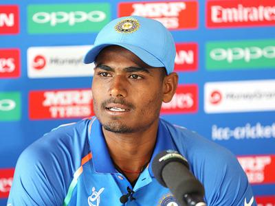 Mumbai Indians Player Anukul Roy