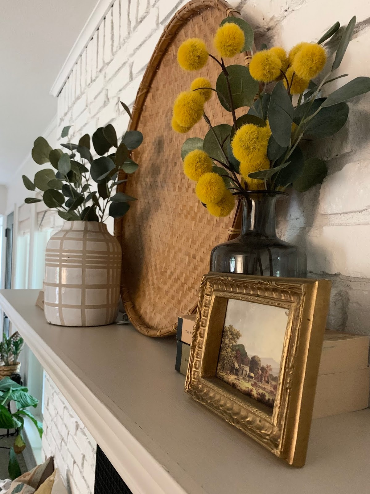 Something different late fall home tour realist beige mantle | House Homemade