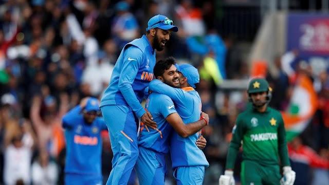 भारत की विश्व कप में पाक पर लगातार सातवीं जीत
