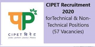 CIPET Recruitment of Technical & Non-Technical Positions Download Application Form @cipet.gov.in /2020/05/CIPET-Recruitment-of-Technical-Non-Technical-Positions-Download-Application-Form-cipet.gov.in.html