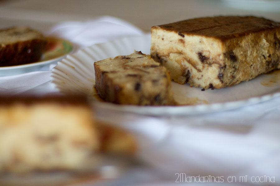 Pudin de panettone (pudding). Receta de aprovechamiento