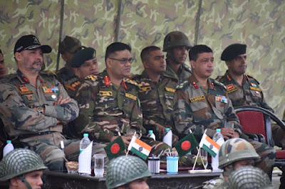 The 7th edition of 13-day long India-Bangladesh joint military exercise Sampriti 2017 has concluded in Mizoram.
