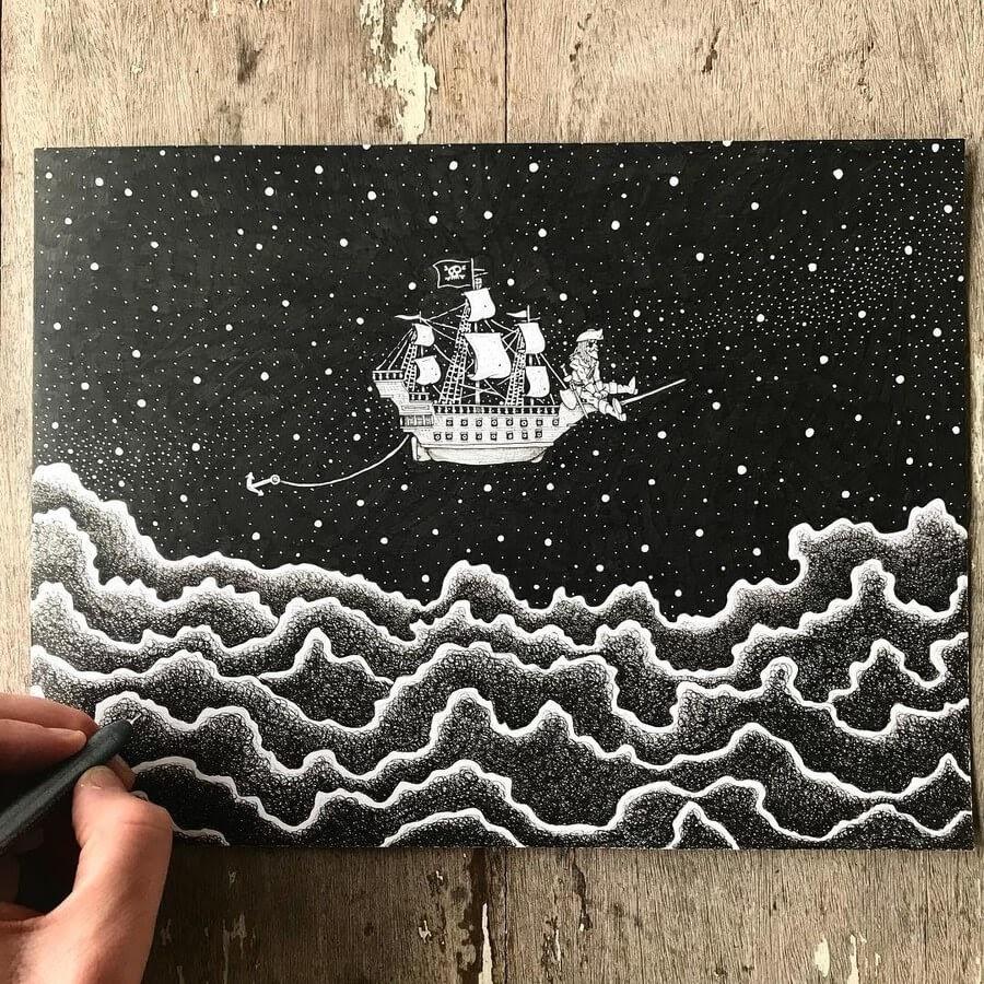 05-Drop-anchor-Ezequiel-Abramzon-Surrealism-www-designstack-co