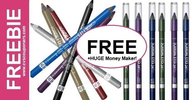 FREE Rimmel Eyeliner CVS Deal