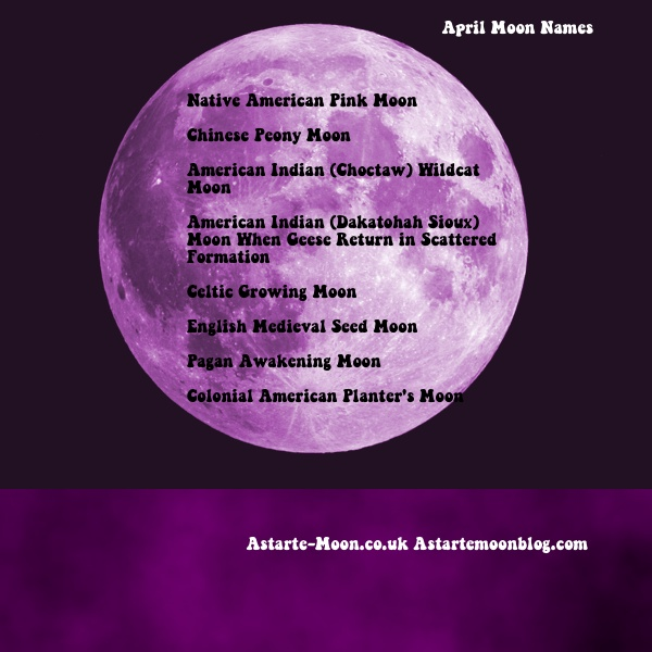 In The Southern Hemisphere April Full Moon Was Known As Harvest Hunter S And Blood