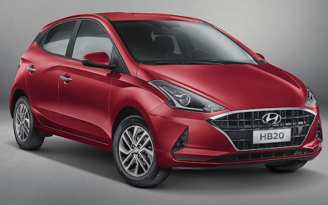 Novo Hyundai HB20 2020 Automático será shift paddles