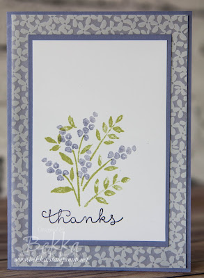 Thank You Cards Made Using Stampin' Up! UK Supplies - Buy Stampin' Up! UK products here