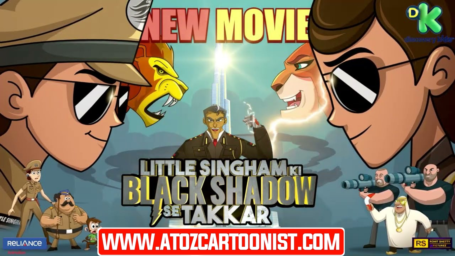 LITTLE SINGHAM KI BLACK SHADOW SE TAKKAR FULL MOVIE IN HINDI DOWNLOAD (720P HD)