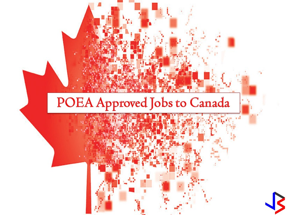 Canada is hiring for Filipino workers. The country is particularly in need of caregivers, industrial meat cutter, baker, farm worker, barber, machinist, cook, platter, and many others. See the complete list below for more details!  Please reminded that jbsolis.net is not a recruitment agency, and all information in this article is taken from POEA job posting sites and posted for the general information of the public.  The contact information of recruitment agencies is also listed. Just click your desired jobs to view the recruiter's info where you can ask a further question and send your application. Any transaction entered with the following recruitment agencies is at applicants risk and account.