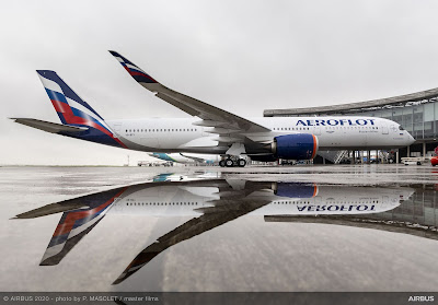 Airbus A350-900, VQ-BFY, Aeroflot
