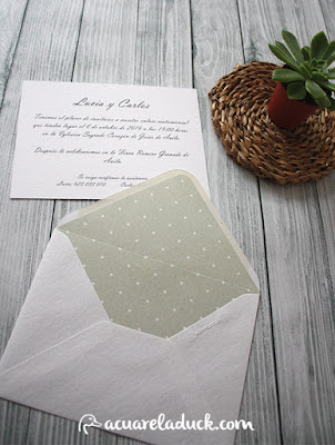 invitacion verde mint