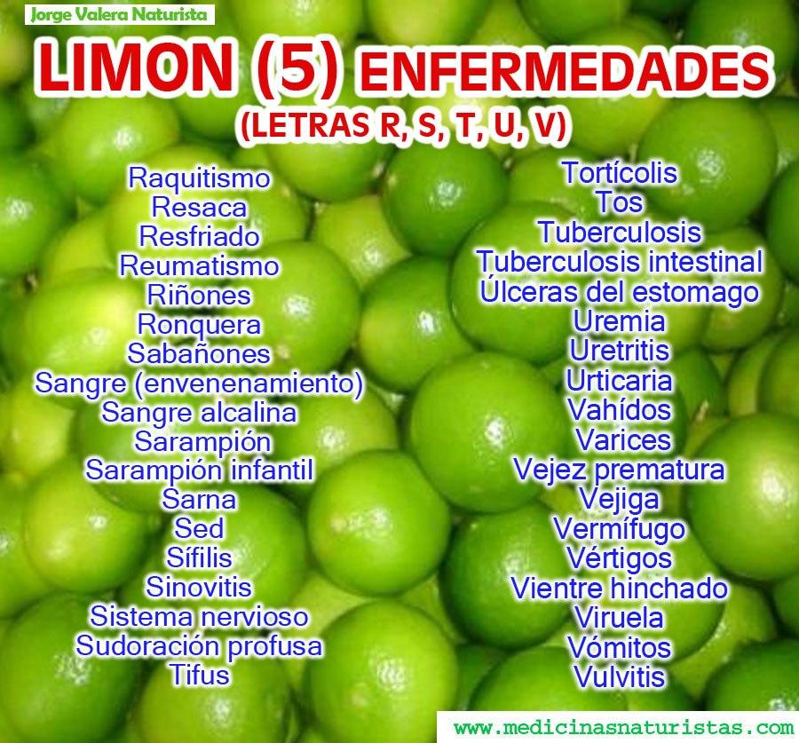 agua y limón para uretritis