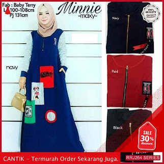 Jual RRJ264D158 Dress Minnie Maxy Wanita Is Ff Terbaru BMGShop
