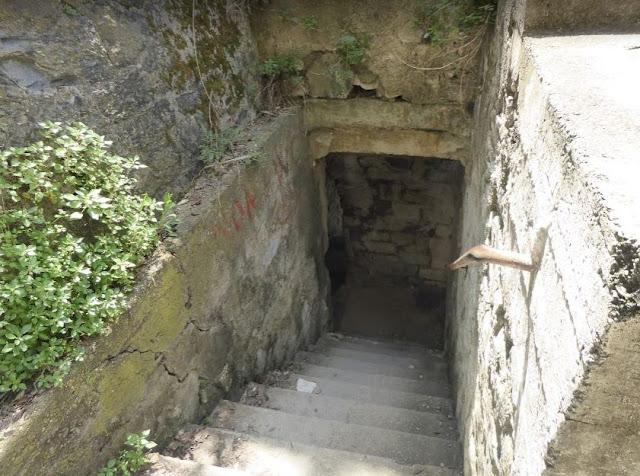 la scala per scendere alla spiaggia di Corniglia
