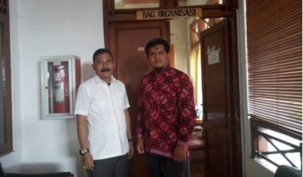 Terkait Fungsi Pengawasan, Ketua Komisi I DPRD Wajo Berkunjung Ke Bagian Organisasi Bantul