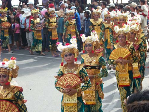 KUTA PARADE. I took this photo when I was looking for local street parade in 2007.I came across this event , and took the moment for a while, enjoy. Photo by Asep Haryono