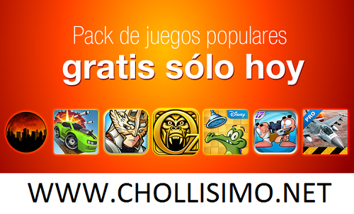 GRATIS Pack de excelentes juegos para Android