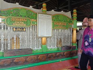 Acara ziarah di Makam Sultan Suriansyah dalam rangkaian kegiatan peringatan hari jadi Kota Banjarmasinyang ke- 493