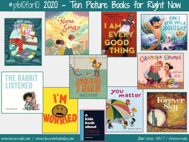 #pb10for10 2020 | Ten Picture Books for This Time