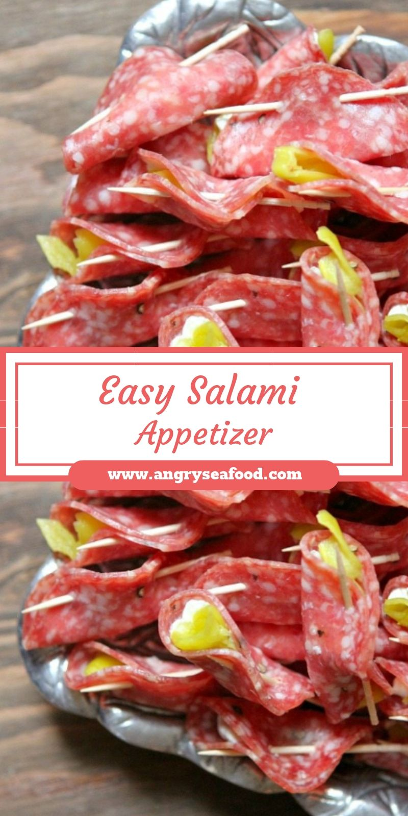 Easy Salami Appetizer
