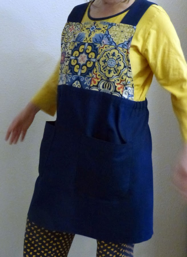 japanese apron pattern