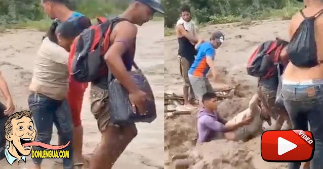 Refugiados venezolanos sigue n huyendo por rios y trochas hacia Colombia