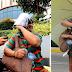 Lolang Namamalimos Habang Naglalakad Pauwi ng Probinsya, Tinulungan ng Isang Vlogger