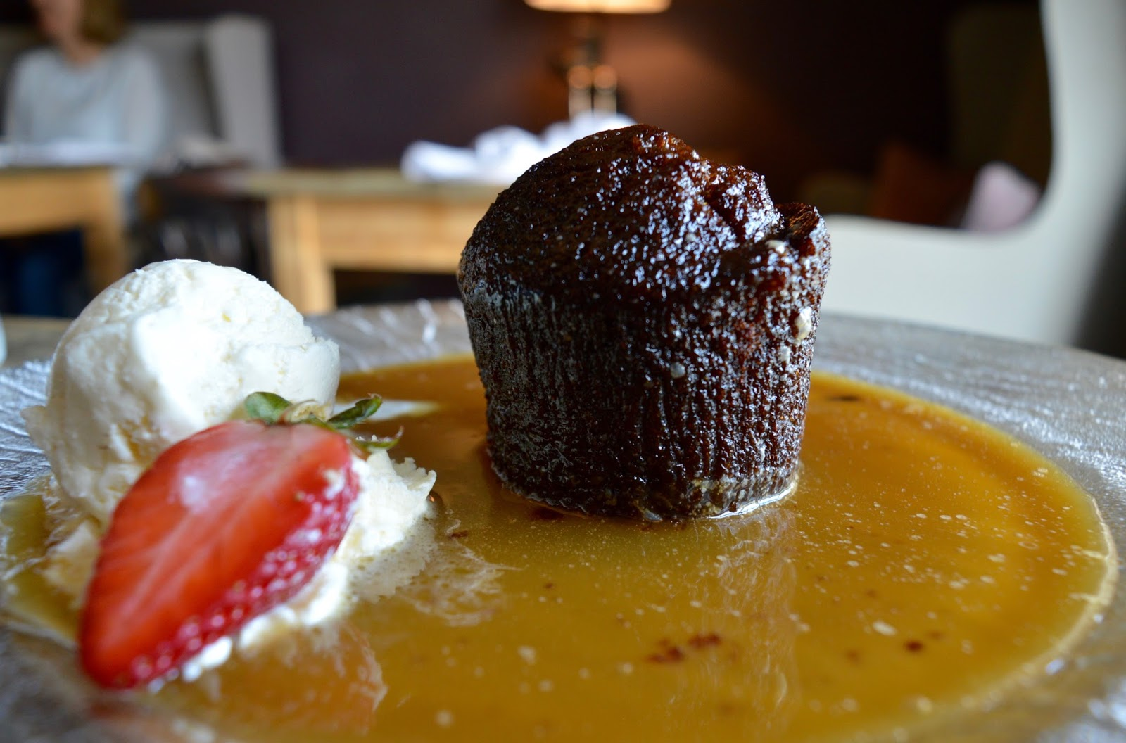 The Northumberland Arms, Felton - sticky toffee pudding