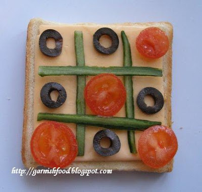 sandwich garnish