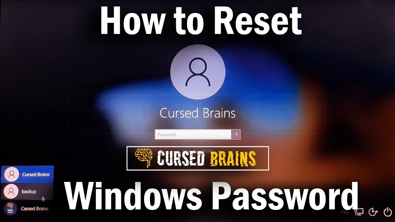 How to Reset Forgotten Windows 10 Password | Administrator Password Recovery | Command Prompt